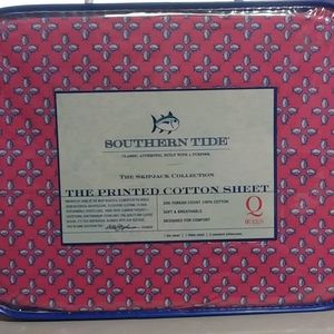 New Southern Tide Queen size sheet set